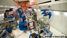 Operation ESA/DLR Zero Gravity