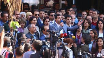Türkei Diyarbakir Selahattin Demirtas, pro-kurdische Partei HDP