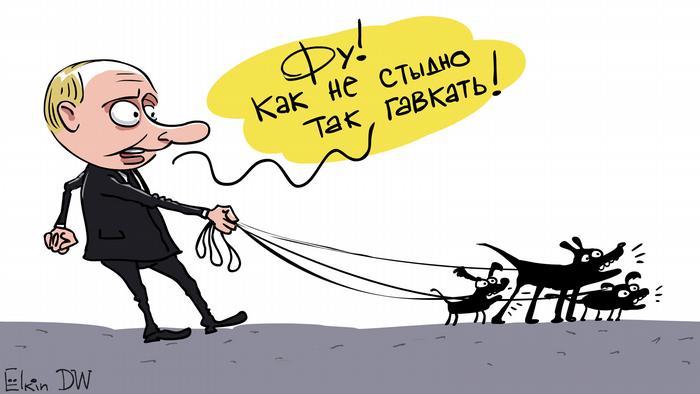 Путин открестился отслов Дмитрия Киселева о«радиоактивном пепле»