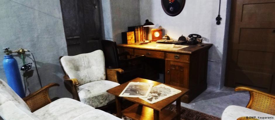 O escritório onde Hitler passou seus últimos dias foi reconstruído em Berlim