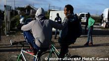 Frankreich Minderjährige Flüchtlinge in Calais