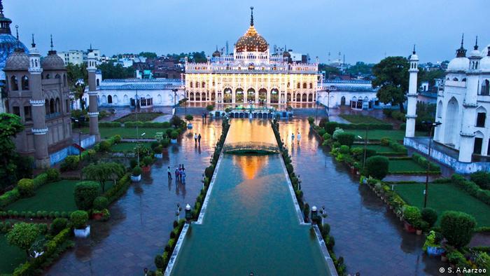 Indien Lucknow - Bara Imambara (S. A Aarzoo)