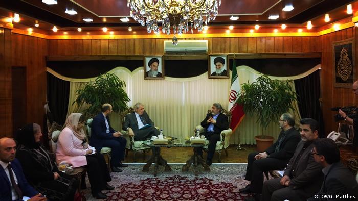 Bildergalerie Iran Meeting (DW/G. Matthes)