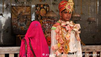 India is 10th on the list of countries with the highest rate of child marriages