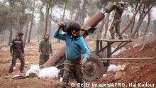 Syrien Aleppo Offensive der Rebellen