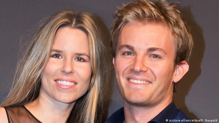 Formel 1 Rennfahrer Nico Rosberg Ehefrau Vivian Sibold (picture-alliance/dpa/D. Naupold)