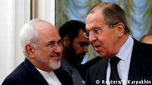 Moskau Außenminister Lawrow und Irans Außenminister Sarif