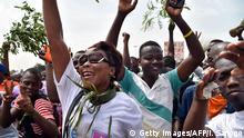 Elfenbeinküste Referendum Wahl Abidjan