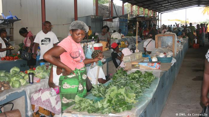 Markt in Maxixe - Inhambane Mosambik