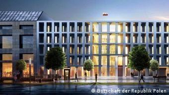 Deutschland | Bau der neuen polnischen Botschaft in Berlin