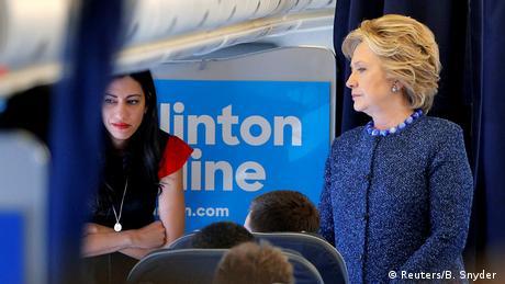 USA Neue FBI-Untersuchung zu Clinton-Emails (Reuters/B. Snyder )