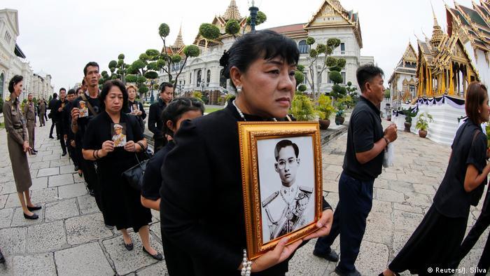 Прощание с королем Таиланда