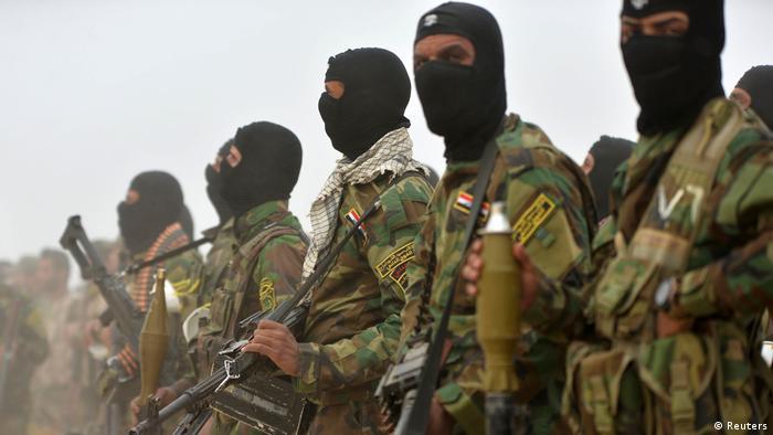Irak Militäroperation gegen IS bei Mossul
