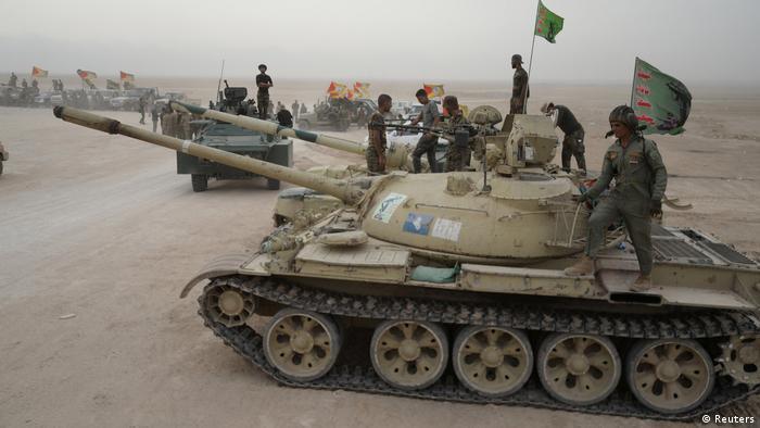 Irak Militäroperation gegen IS bei Mossul (Reuters)