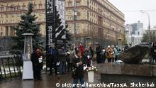 Russland Gedenktag in Moskau