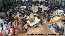 Zentralafrikanische Republik Kaga Bandoro Flüchtlingscamp