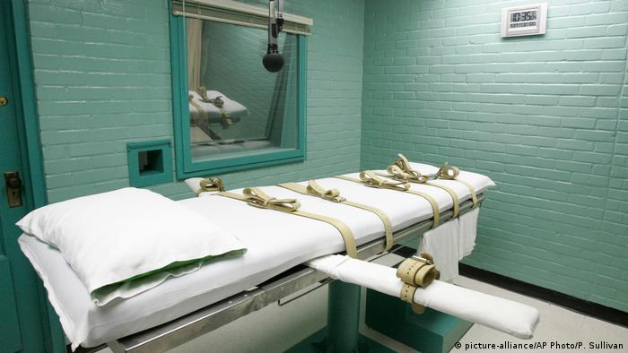 USA Hinrichtungskammer im Gefängnis von Huntsville, Texas