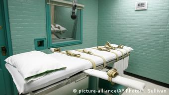 Lethal injection able in Huntsville, Texas (picture-alliance/AP Photo/P. Sullivan)