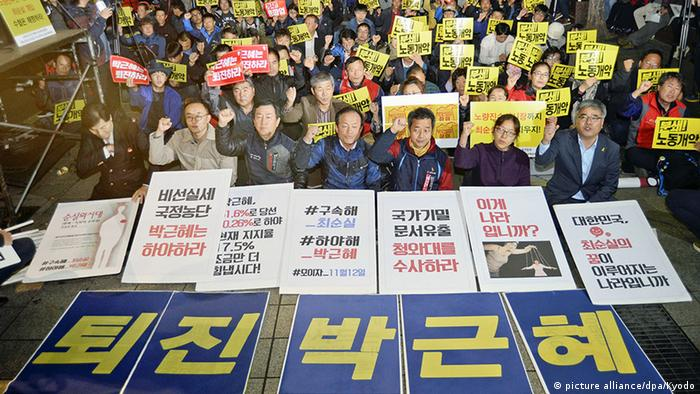 Image result for Park Geun-hye, Embattled South Korean President, Says She's Willing to Resign