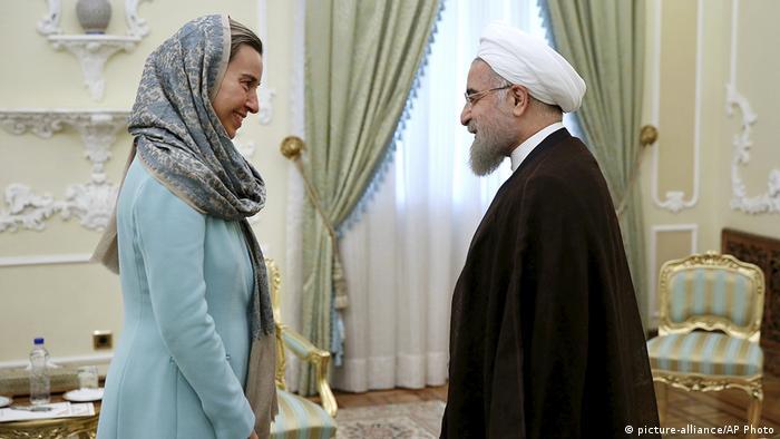 Iran | EU-Außenministerin Mogherini trifft den Iranischen Präsidenten Hassan Rouhani in Teheran