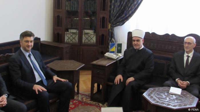 Susret Plenkovića i Kavazovića u Sarajevu