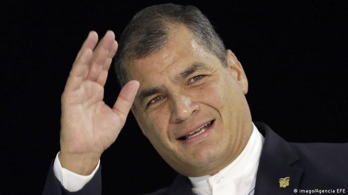 Former President of Ecuador Rafael Correa (imago/Agencia EFE)