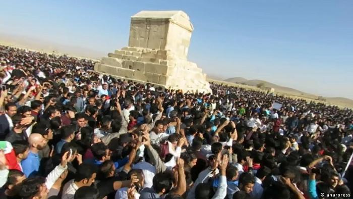 Iran | Bildergalerie Cyrus-Tage in Iran (anarpress)