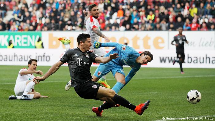 Bundesliga | FC Augsburg vs FC Bayern Muenchen | 9 Spieltag 2016/2017 (Getty Images/Bongarts/A. Pretty)