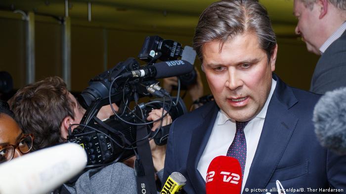 Island Bjarni Benediktsson ARCHIV