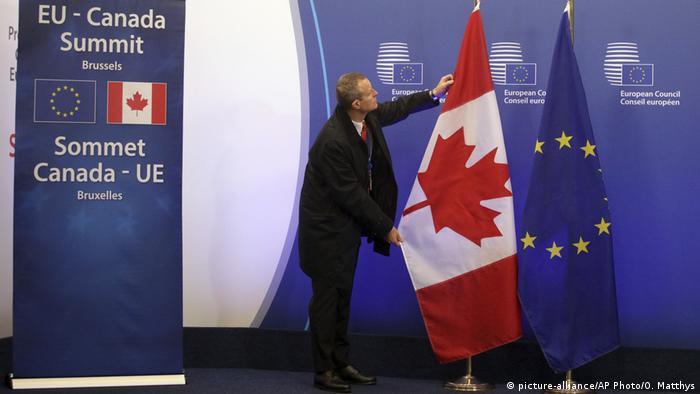 Schlussakt für CETA