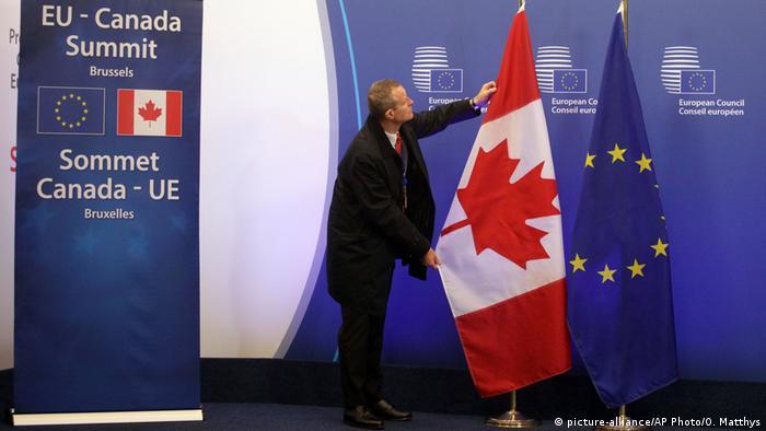 Belgien EU Kanada Gipfel