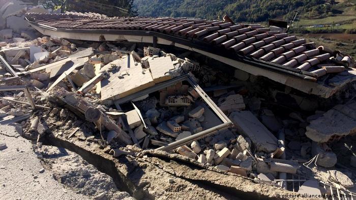 Наслідки землетрусу в місті Л'Аквіла