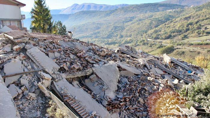 Землетрус зрівняв із землею будівлі в місті Л'Аквіла