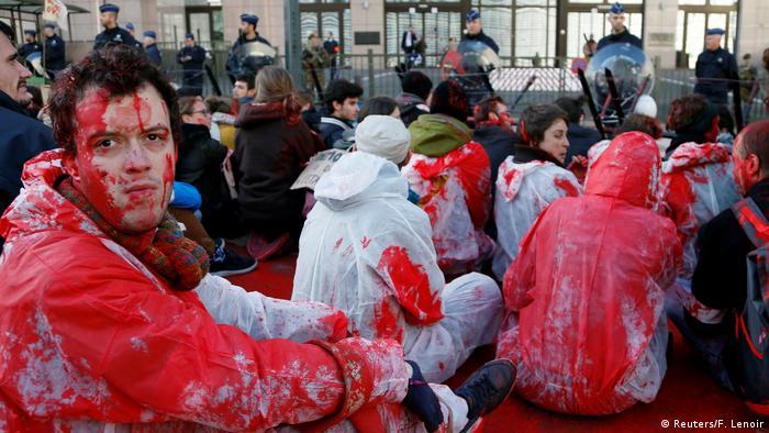 Belgien EU Kanada Gipfel Proteste (Reuters/F. Lenoir)