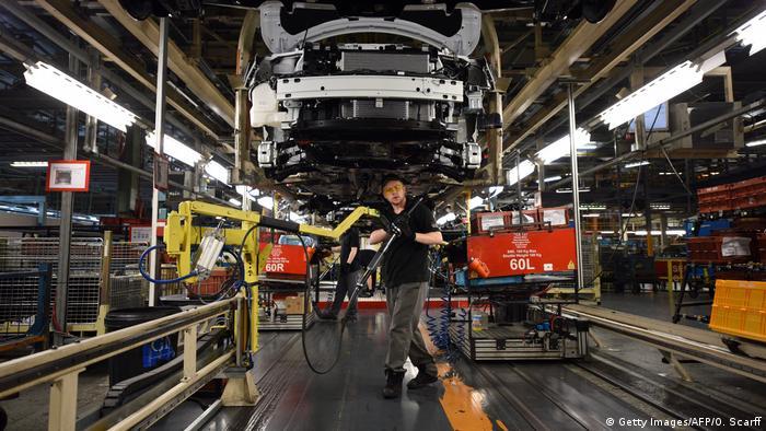 England Nissan Werkstatt in Sunderland
