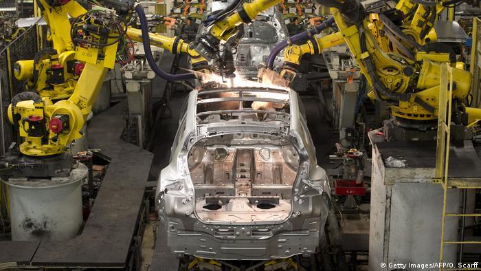 England Nissan Werkstatt in Sunderland (Getty Images/AFP/O. Scarff)