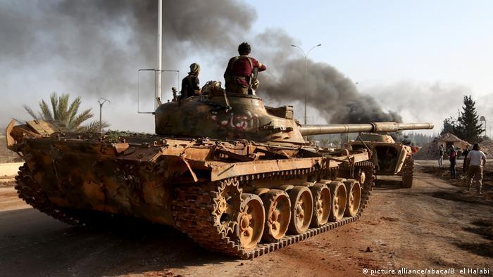 Syrien Kämpfe in Aleppo