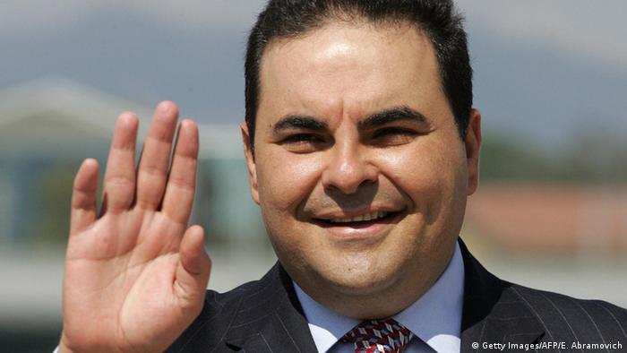 Ex-Präsident von El Salvador Antonio Saca
