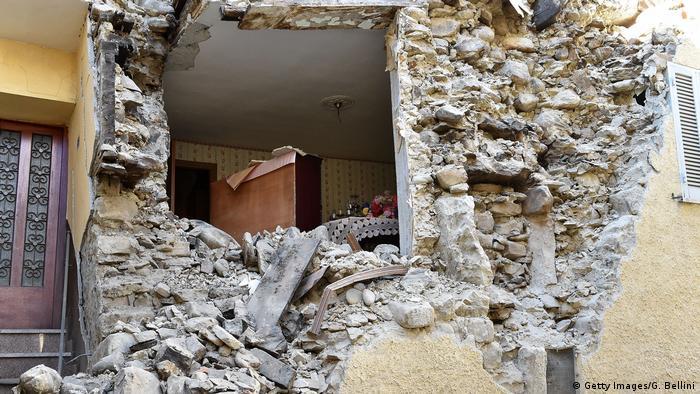 Руйнування в Аркуато-дель-Тронто