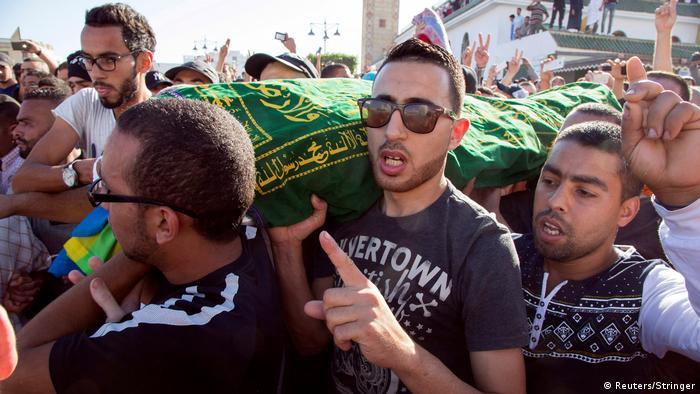 Marokko Beerdigung in Al-Hoceima (Reuters/Stringer)