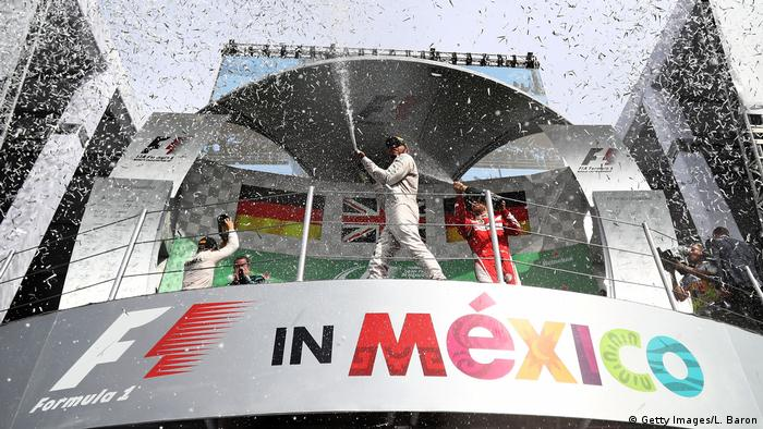Mexiko Formel 1 Siegerehrung (Getty Images/L. Baron)