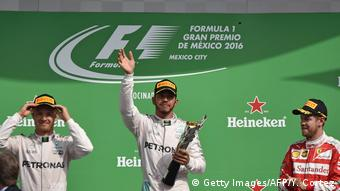 Mexiko Formel 1 Siegerehrung (Getty Images/AFP/Y. Cortez)