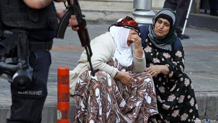 Türkei Bürgermeister der türkischen Kurdenmetrophole Diyarbakir in Untersuchungshaft (Reuters/S. Kayar)