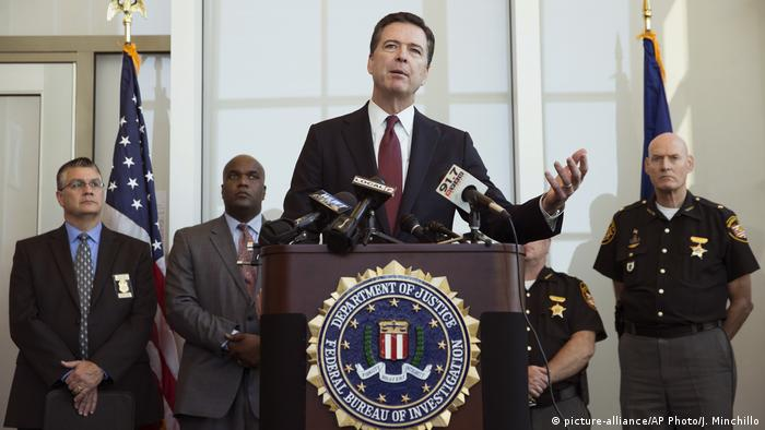 USA James Comey (picture-alliance/AP Photo/J. Minchillo)