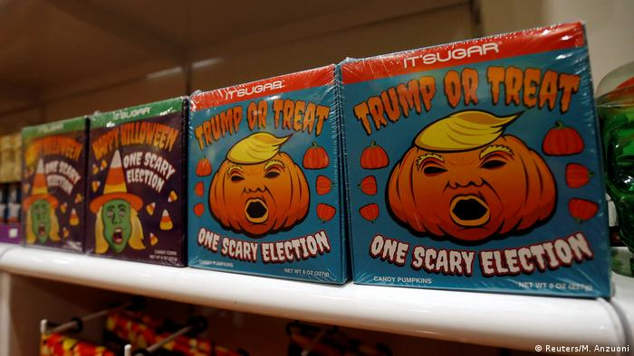 USA Halloween Wahlkampf (Reuters/M. Anzuoni)
