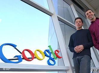 سرگی برین و لری پیج، بنیانگذاران گوگل