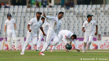 Cricket Bangladesch gegen England (Reuters/M. P. Hossain)