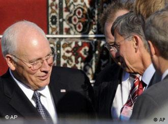 US Vice President Dick Cheney in Kyiv