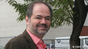 Deutschland Mexikanischer Schriftsteller Juan Villoro in Berlin
