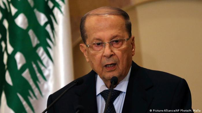 Michel Aoun (Picture-Alliance/AP Photo/H. Malla)